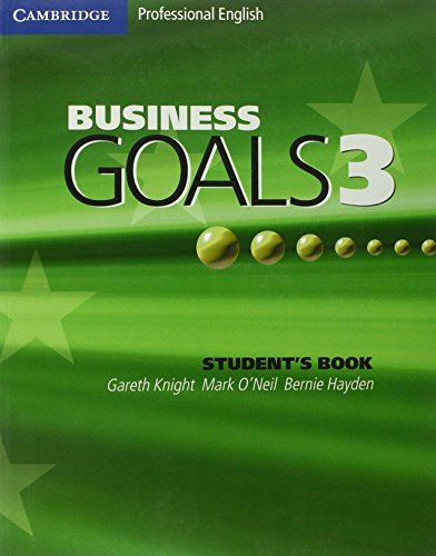 Business Goals 3 Student's Book by Gareth Knight