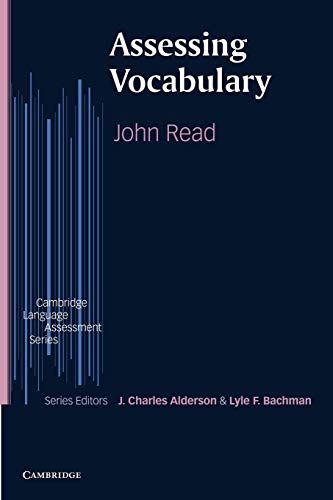 Assessing Vocabulary by John Read
