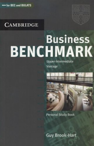Business Benchmark Upper Intermediate Personal Study Book BEC and BULATS Edition by Guy Brook-Hart