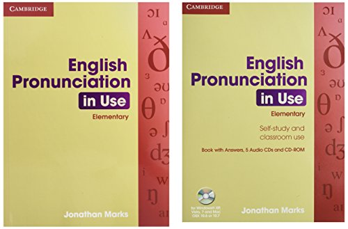 English Pronunciation in Use Elementary Book with Answers, 5 Audio CDs and CD-ROM by Sylvie Donna