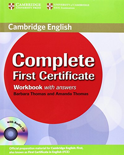 Complete First Certificate Workbook with Answers and Audio CD by Amanda Thomas