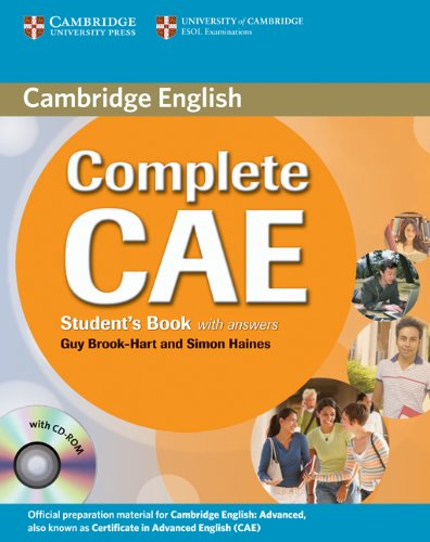 Complete CAE Student's Book with Answers with CD-ROM by Guy Brook-Hart