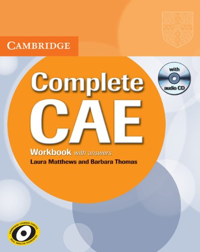 Complete CAE Workbook with Answers with Audio CD by Laura Matthews