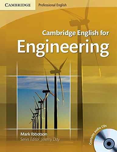 Cambridge English for Engineering Student's Book with Audio CDs (2) by Mark Ibbotson