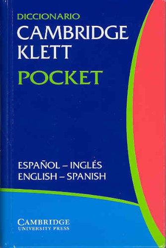 Diccionario Cambridge Klett Pocket Espanol-Ingles/English-Spanish Flexicover by Cambridge University Press