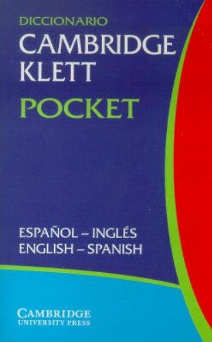 Diccionario Cambridge Klett Pocket Espanol-Ingles/English-Spanish by Cambridge University Press
