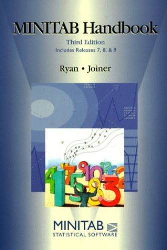 Minitab Handbook by Thomas Ryan