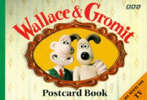 Wallace and Gromit Postcard Book by Nick Park