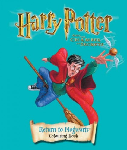 Harry Potter and the Chamber of Secrets: Return to Hogwarts Colouring Book