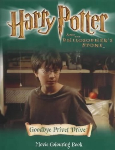 Harry Potter and the Philosopher's Stone: Around Hogwarts: Movie Colouring Book by J. K. Rowling