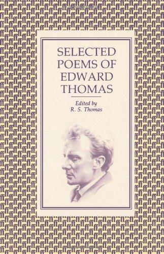 Selected Poems of Edward Thomas by Edward Thomas