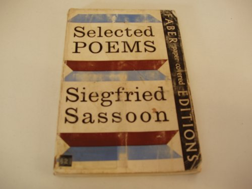 Selected Poems by Siegfried Sassoon