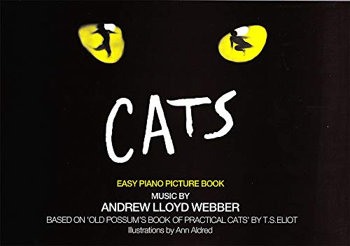 """""""Cats"""" Easy Piano Picture Book by Andrew Lloyd Webber"""