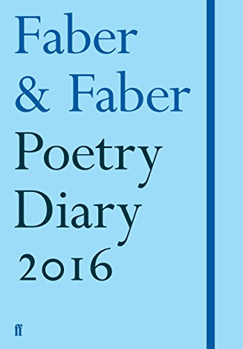 Faber Poetry Diary: Pale Blue: 2016 by