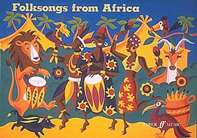 Folksongs from Africa by Malcolm Floyd