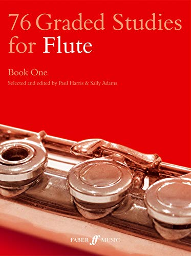 76 Graded Studies for the Flute by Paul Harris