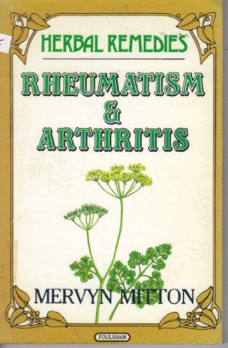 Arthritis and Rheumatism by Mervyn A. Mitton