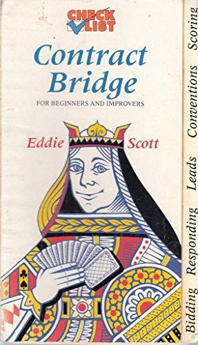 Contract Bridge: Check List by Eddie Scott