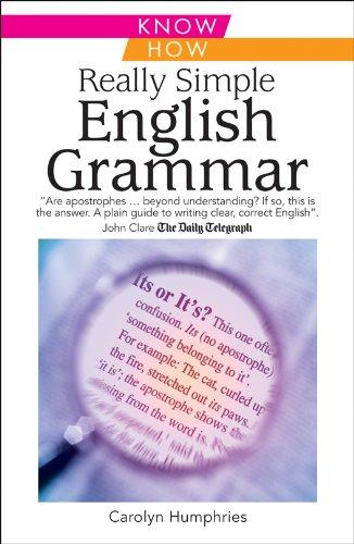 Really Simple English Grammar by Carolyn Humphries
