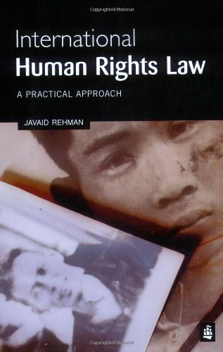 International Human Rights Law: A Practical Approach by Javaid Rehman