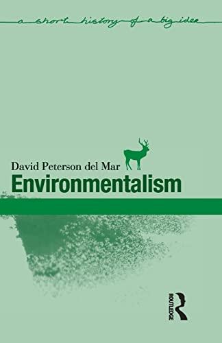 Environmentalism by David Peterson del Mar