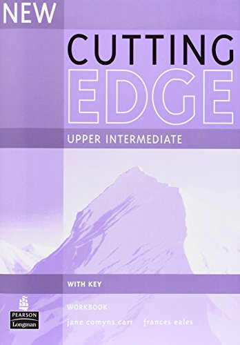 New Cutting Edge Upper-Intermediate Workbook with Key by Jane Comyns-Carr