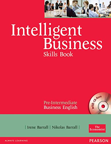 Intelligent Business Pre-Intermediate Skills Book and CD-ROM Pack by Irene Barrall