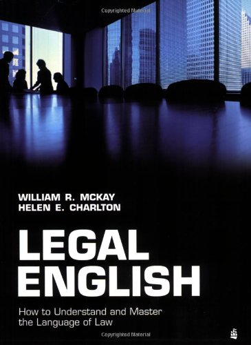 Legal English by William McKay