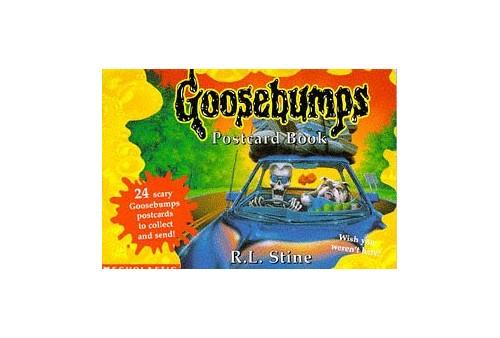 Goosebumps Postcard Book by R. L. Stine