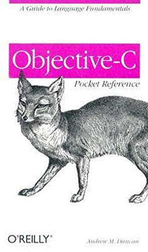 Objective-C Pocket Reference by Andrew Duncan