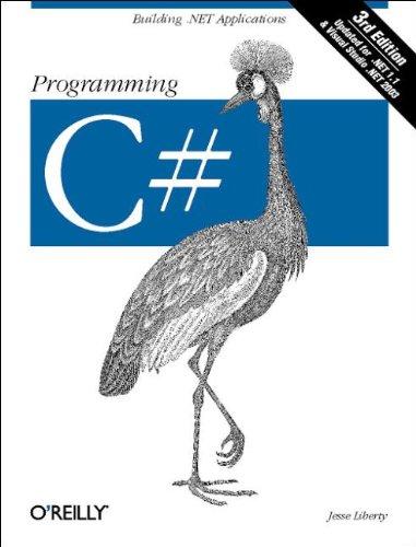 Programming C# by Jesse Liberty