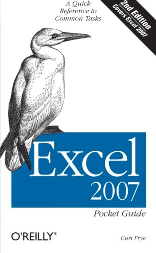 Excel 2007 Pocket Guide by Curtis Frye