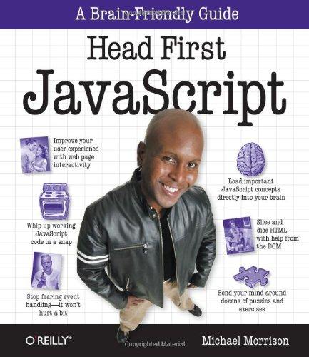 Head First JavaScript by Michael Morrison