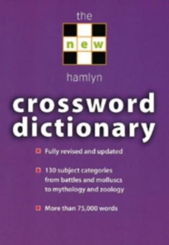 The New Hamlyn Crossword Dictionary by J.M. Bailie