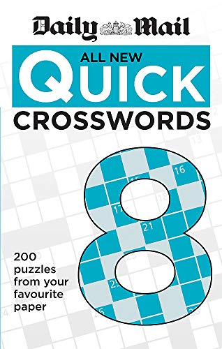 Daily Mail All New Quick Crosswords 8 by Daily Mail