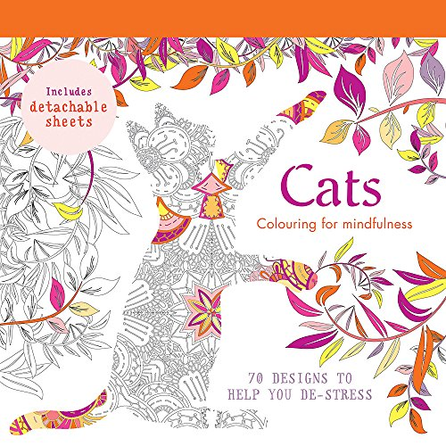 Cats: 70 Designs to Help You De-Stress by