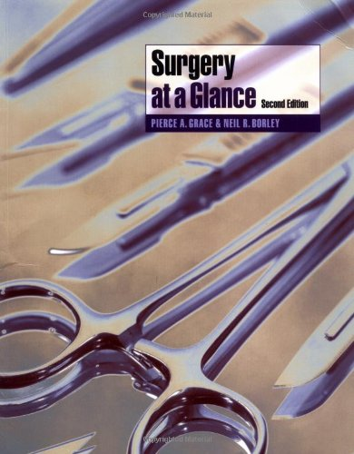 Surgery at a Glance by Pierce A. Grace