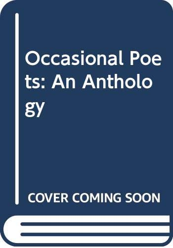 Occasional Poets: An Anthology by Richard Adams