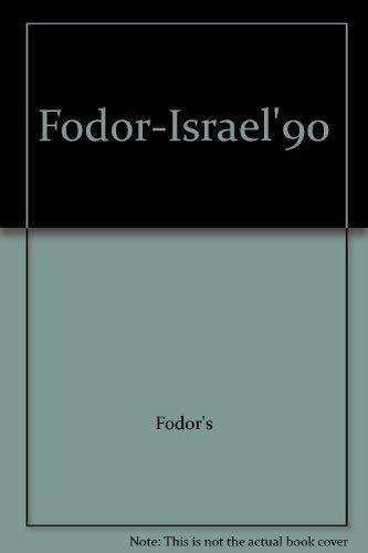 Israel: 1990 by Eugene Fodor