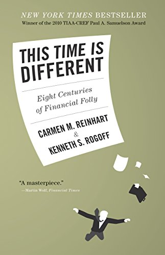 This Time is Different: Eight Centuries of Financial Folly by Carmen M. Reinhart