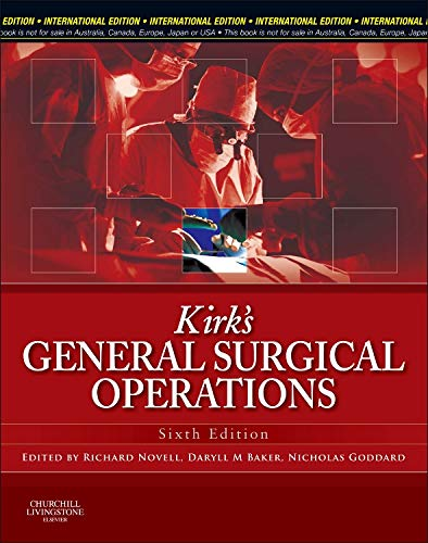 Kirk's General Surgical Operations by Richard Novell