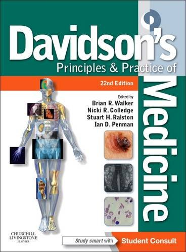 Davidson's Principles and Practice of Medicine: With STUDENT CONSULT Online Access by Nicholas A. Boon