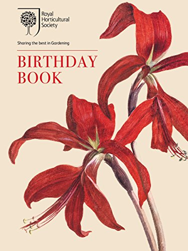 The RHS Birthday Book by Brent Elliott