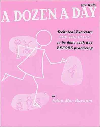 A Dozen A Day Mini Book by
