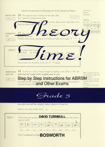 Theory Time: Grade 5 by David Turnbull