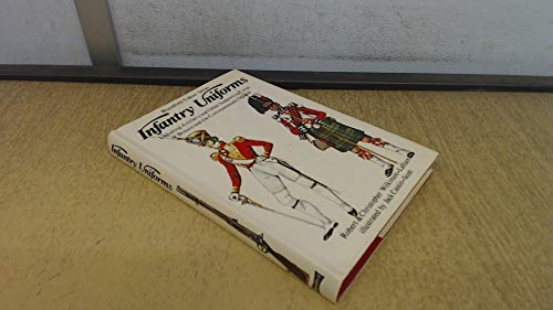 Infantry Uniforms: Including Artillery and Other Supporting Corps of Britain and the Commonwealth: Bk. 1: 1742-1855 by Robert Wilkinson-Latham