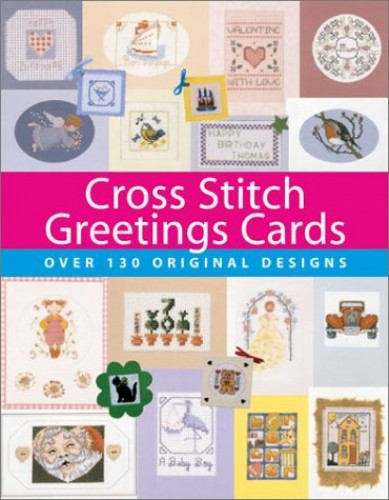 Cross Stitch Greetings Cards by Julie Cook
