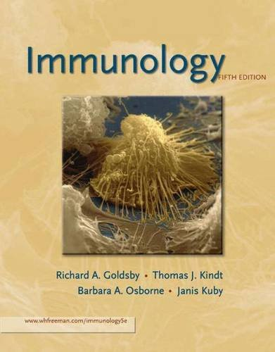 Immunology by Richard A. Goldsby