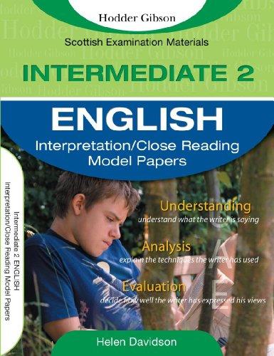 English: Intermediate 2 by Helen J. Davidson
