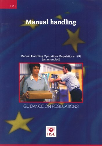 Manual Handling: Manual Handling Operations Regulations  - Guidance on Regulations: 1992 by Health and Safety Executive (HSE)